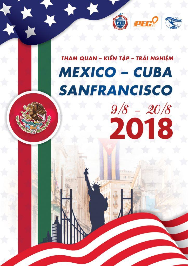 Hành trình Tham quan – Kiến tập – Trải nghiệm MEXICO – CUBA – SANFRANCISCO