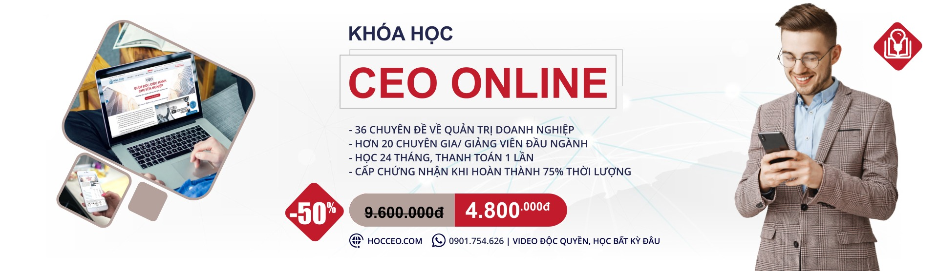 Khóa học CEO online
