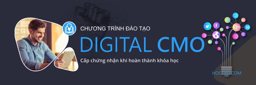 Khóa học Digital CMO